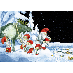 5-pack Julkort Ovan Staden
