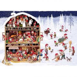 Bordstablett Julbestyr